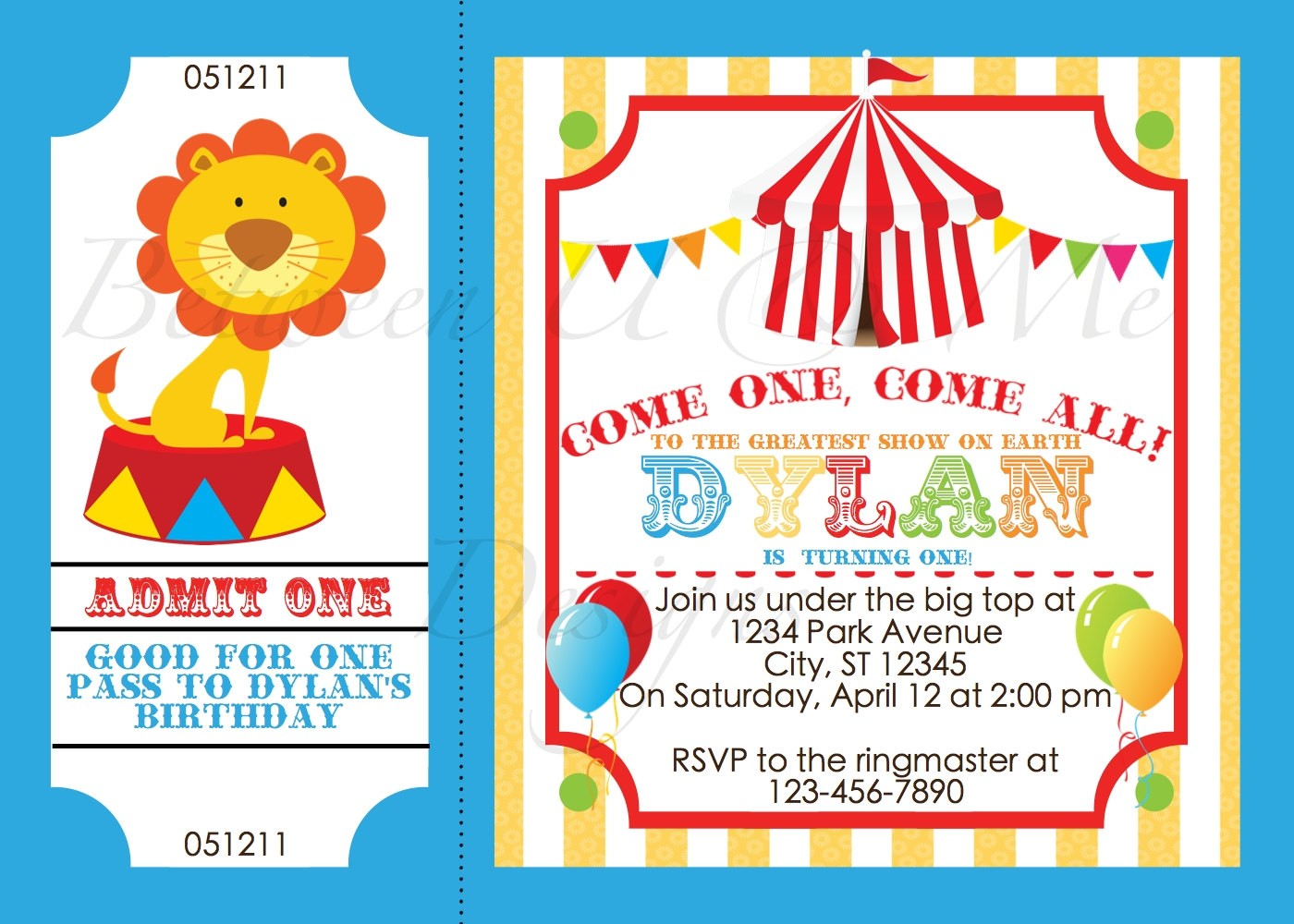 carnival themed birthday invitation wording ; Charming-Circus-Party-Invitations-For-Additional-Party-Invitation