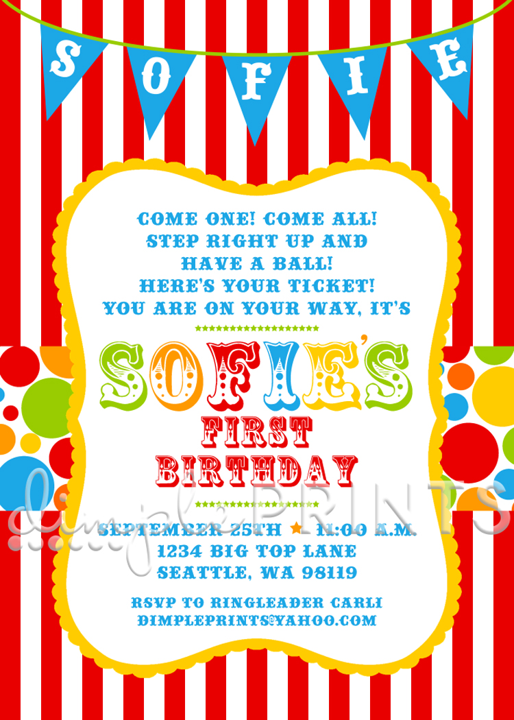 carnival themed birthday party invitation wording ; circus_invites_wording_5