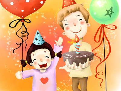 cartoon birthday wallpaper ; 96962793803bb3b8d68049dbaaee96f7
