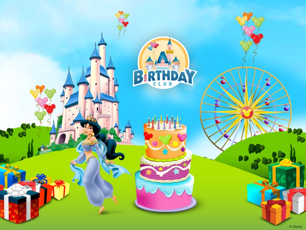 cartoon birthday wallpaper ; Disney%252BHappy%252BBirthday