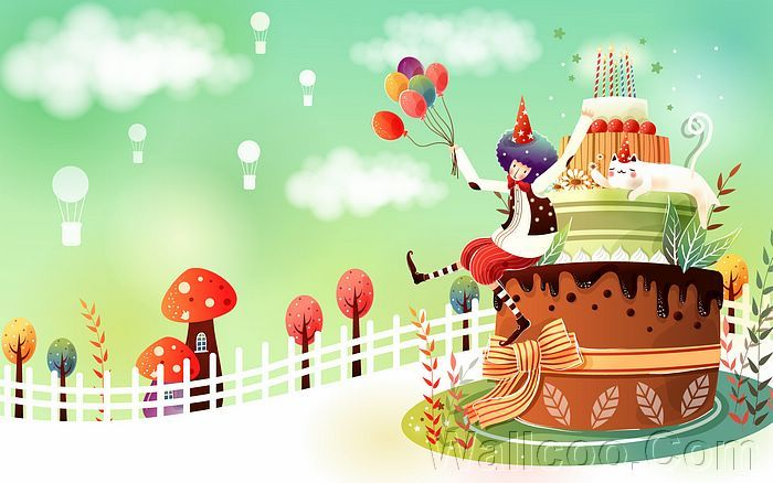 cartoon birthday wallpaper ; bdc4cff866e2aaae31c439ab4fe21f9a