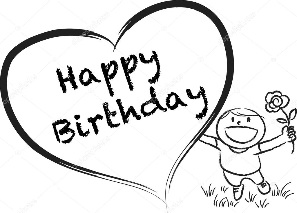 cartoon drawings for birthday cards ; cartoon-drawings-for-birthday-cards-depositphotos-65837455-stock-photo-cartoon-drawing-happy-birthday-card