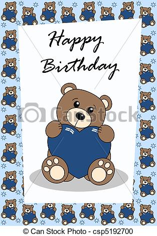 cartoon drawings for birthday cards ; happy-birthday-drawing_csp5192700