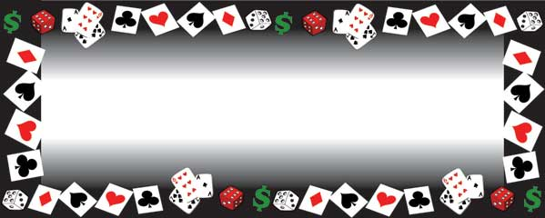 casino theme birthday banner ; cards-dice-and-dollars-personalised-banner-partyramacouk-casino-birthday-banner