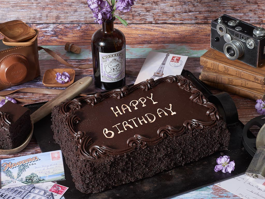 chocolate birthday sheet cake ; Gourmet-Cakes-9