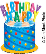 clipart birthday cake images ; vector-birthday-cake-with-candles-illustration_csp6896302
