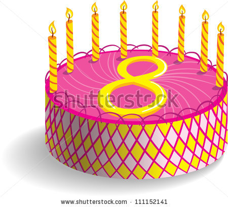 clipart images of birthday cakes ; 8th-birthday-cake-clipart-1