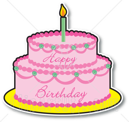 clipart images of birthday cakes ; Birthday-cake-clipart-5