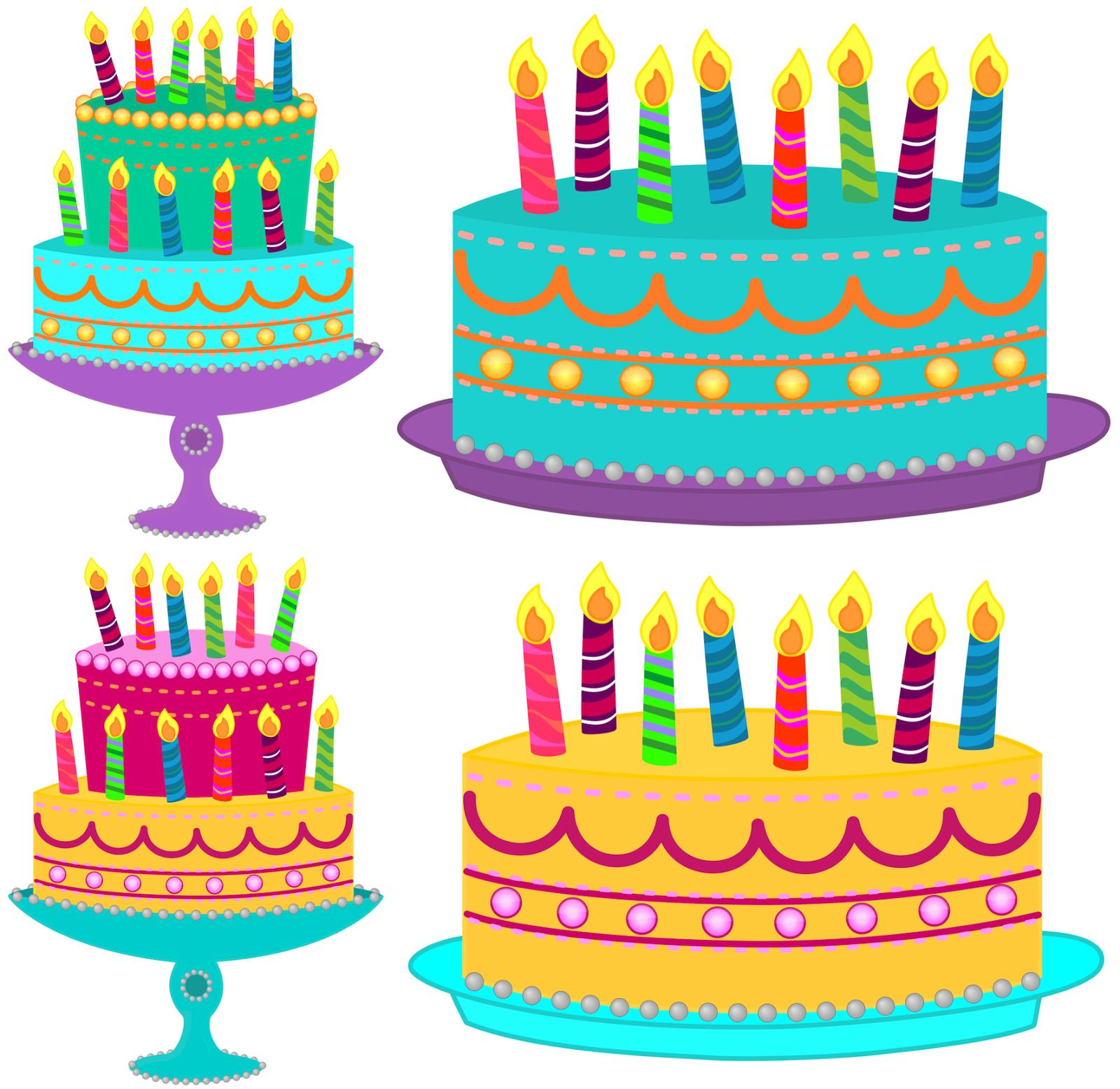 clipart images of birthday cakes ; ed4ad91ff85a7594e1cbec4a67f98bbe