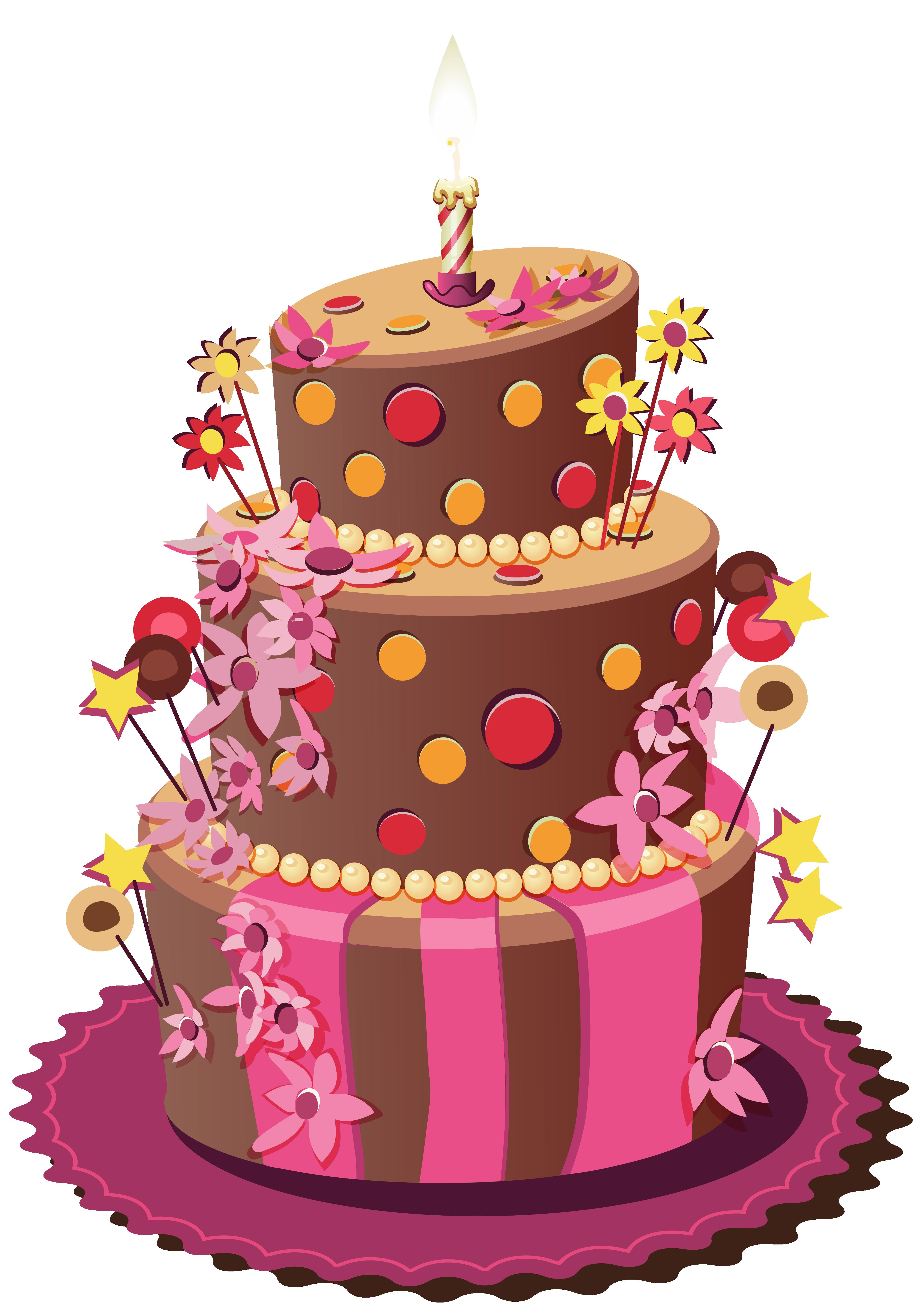 clipart images of birthday cakes ; fall-clipart-birthday-cake-20