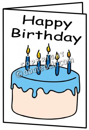 clipart of birthday cards ; birthday-card-clipart-1