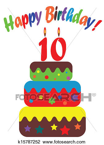 clipart of birthday cards ; birthday-card-for-ten-years-clipart__k15787252