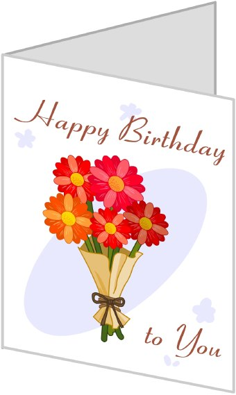 clipart of birthday cards ; funny-birthday-cards-clipart-1