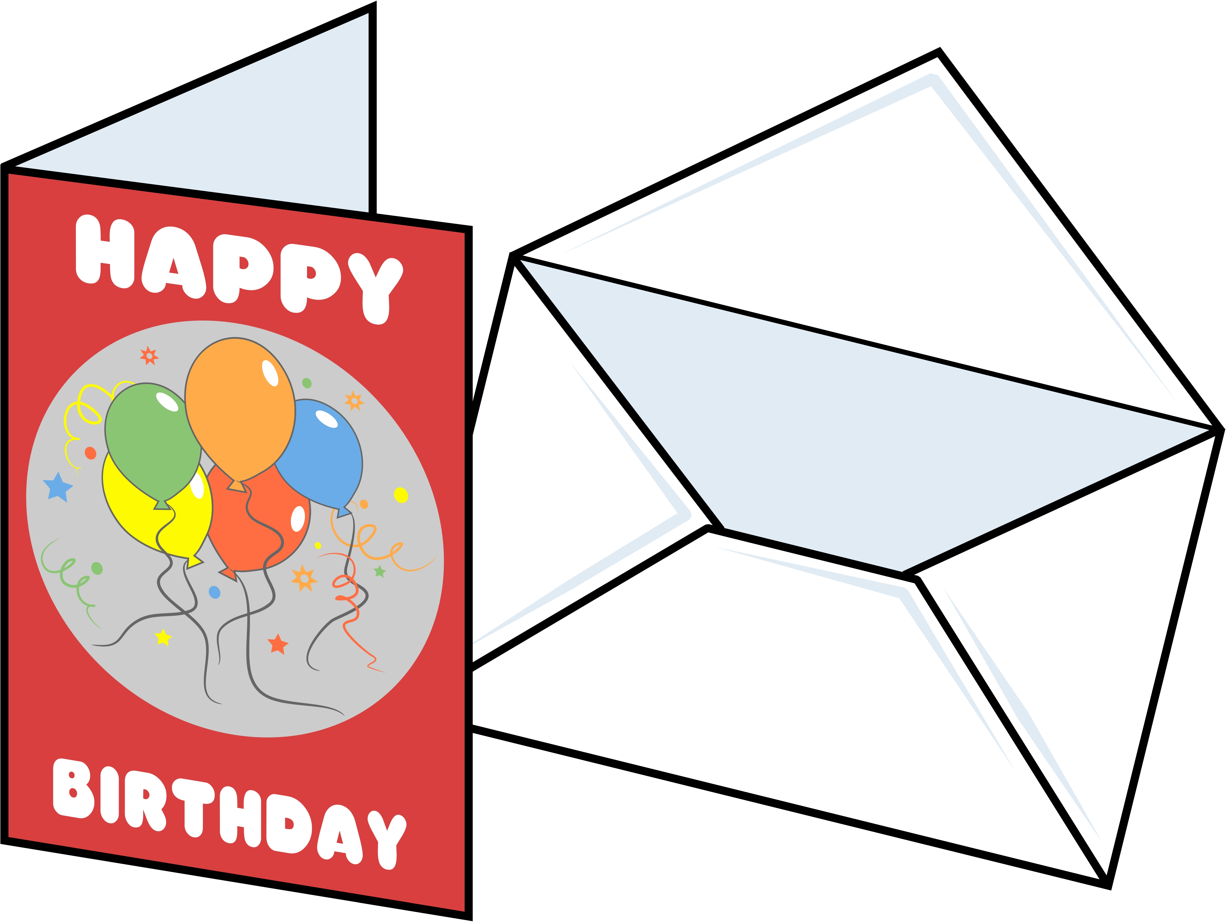 clipart of birthday wishes ; birthday-card-clipart-2