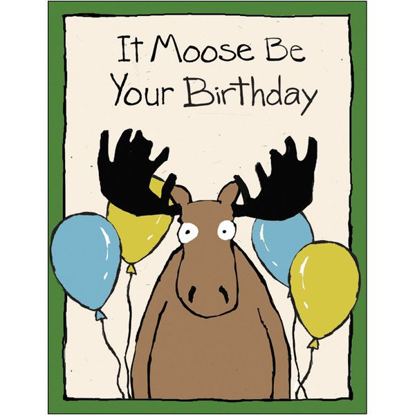 clipart of birthday wishes ; moose-clipart-birthday-7
