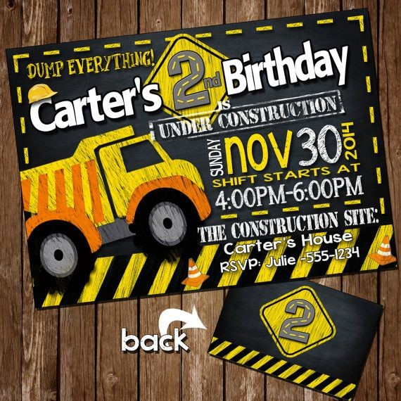 construction themed birthday party invitation wording ; Inspiring-Construction-Party-Invitations-As-Prepossessing-Ideas-Party-Invitation-Wording