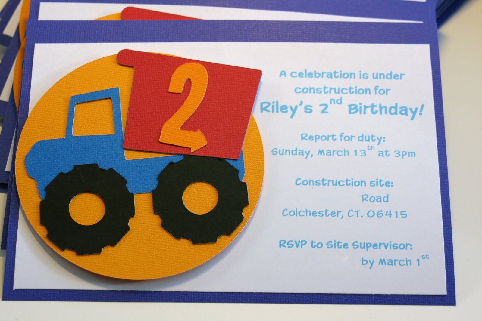 construction themed birthday party invitation wording ; construction-themed-birthday-party-invitation-wording