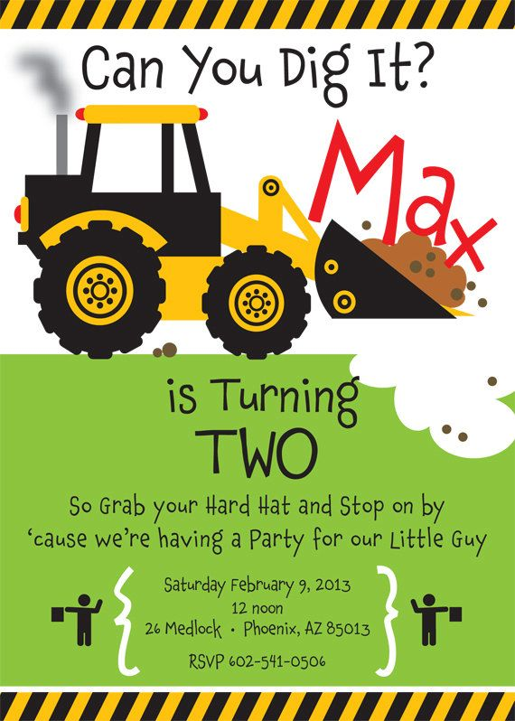 construction themed birthday party invitation wording ; truck-birthday-party-invitations-to-inspire-you-in-creating-fascinating-Birthday-invitation-wording-5