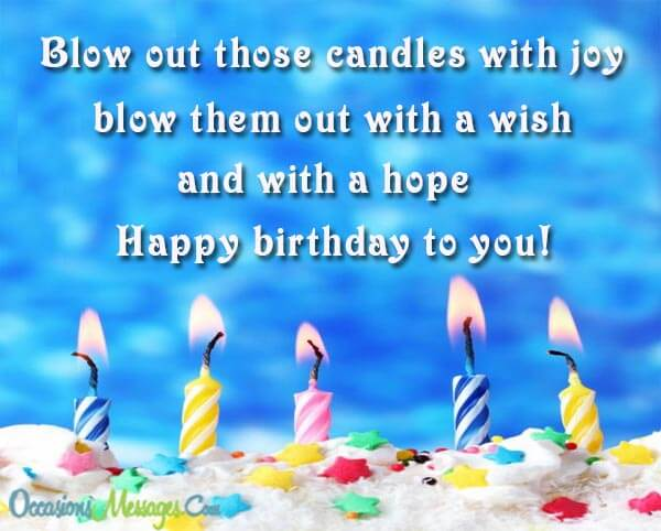 convey birthday wishes message ; 113