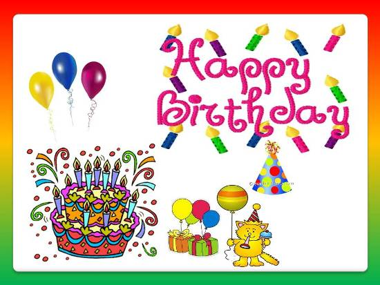 convey birthday wishes message ; 305557