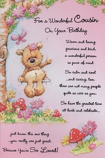 cousins birthday greeting messages ; 0f652dafedba66bace4e67fd1808a2e3