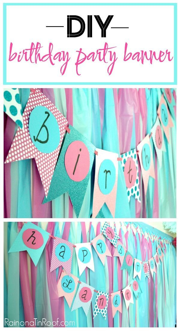 create birthday banner with photo ; 23cf0570db2655930a788dac8e1db4f9