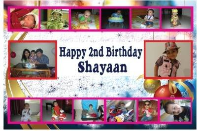 create birthday banner with photo ; 246736