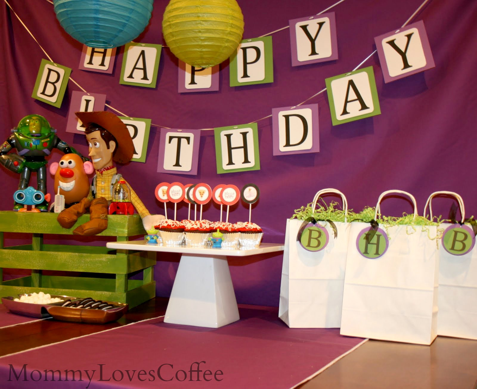 create birthday banner with photo ; IMG_8633