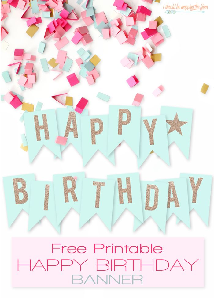 create birthday banner with photo ; birthday-banner-maker-online-free-best-25-free-printable-birthday-banner-ideas-on-pinterest-free