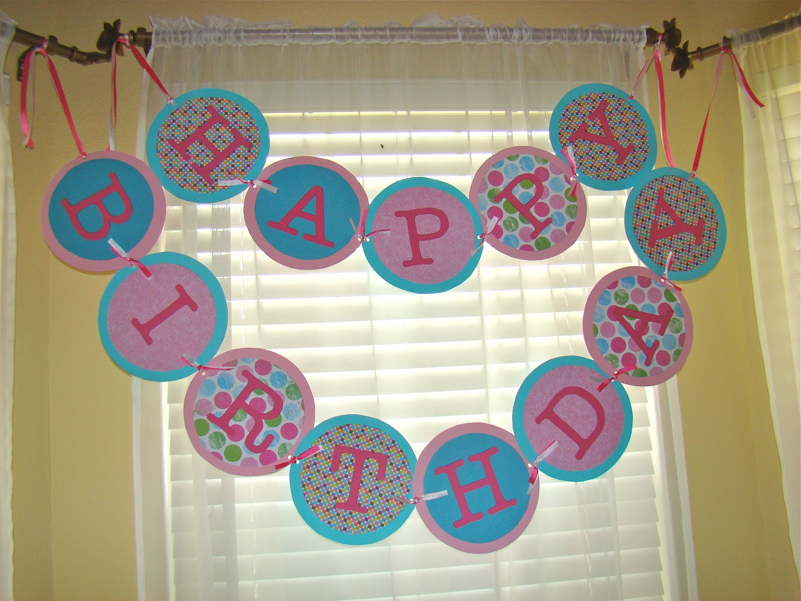 create birthday banner with photo ; finished+