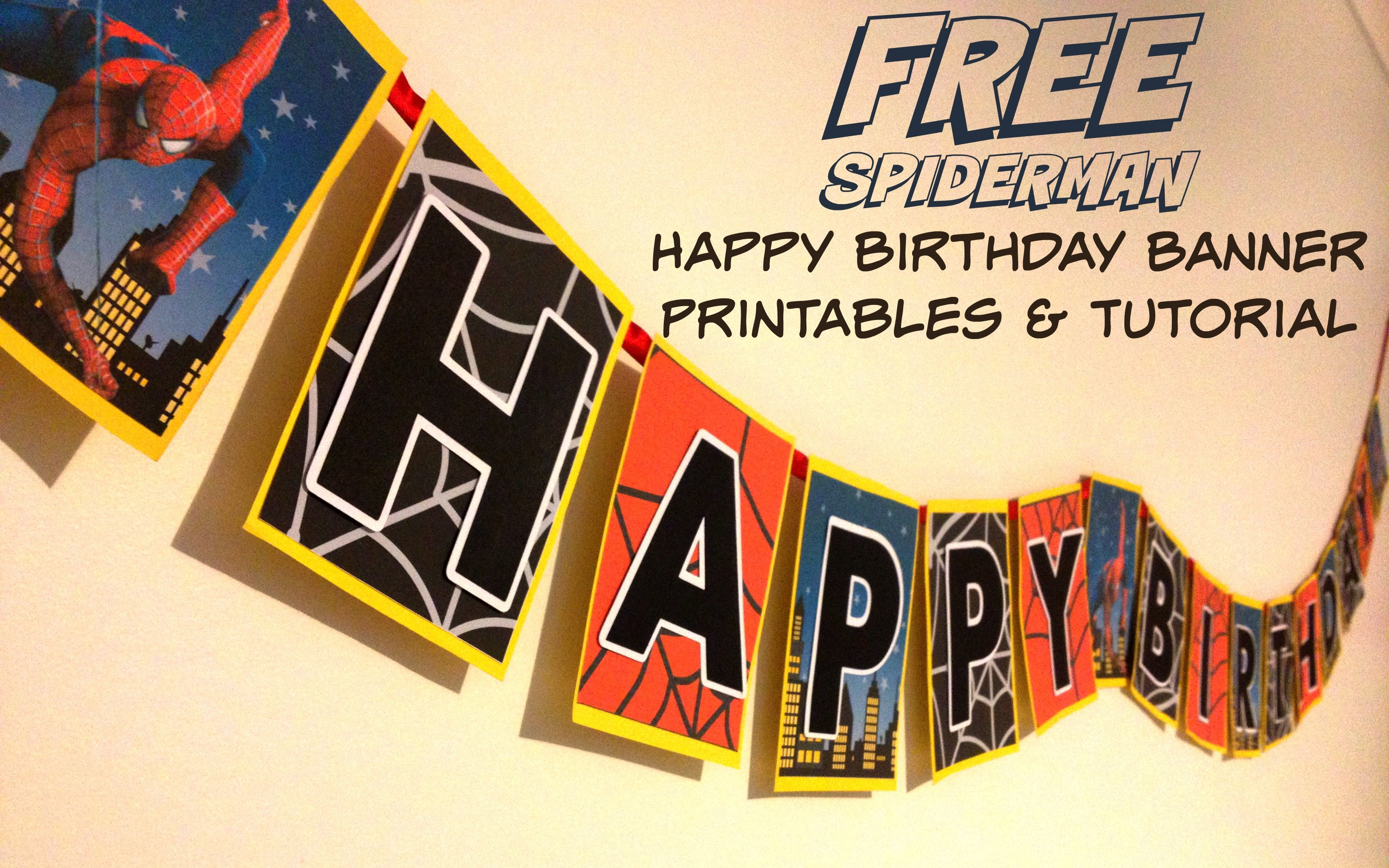 create birthday banner with photo ; maxresdefault