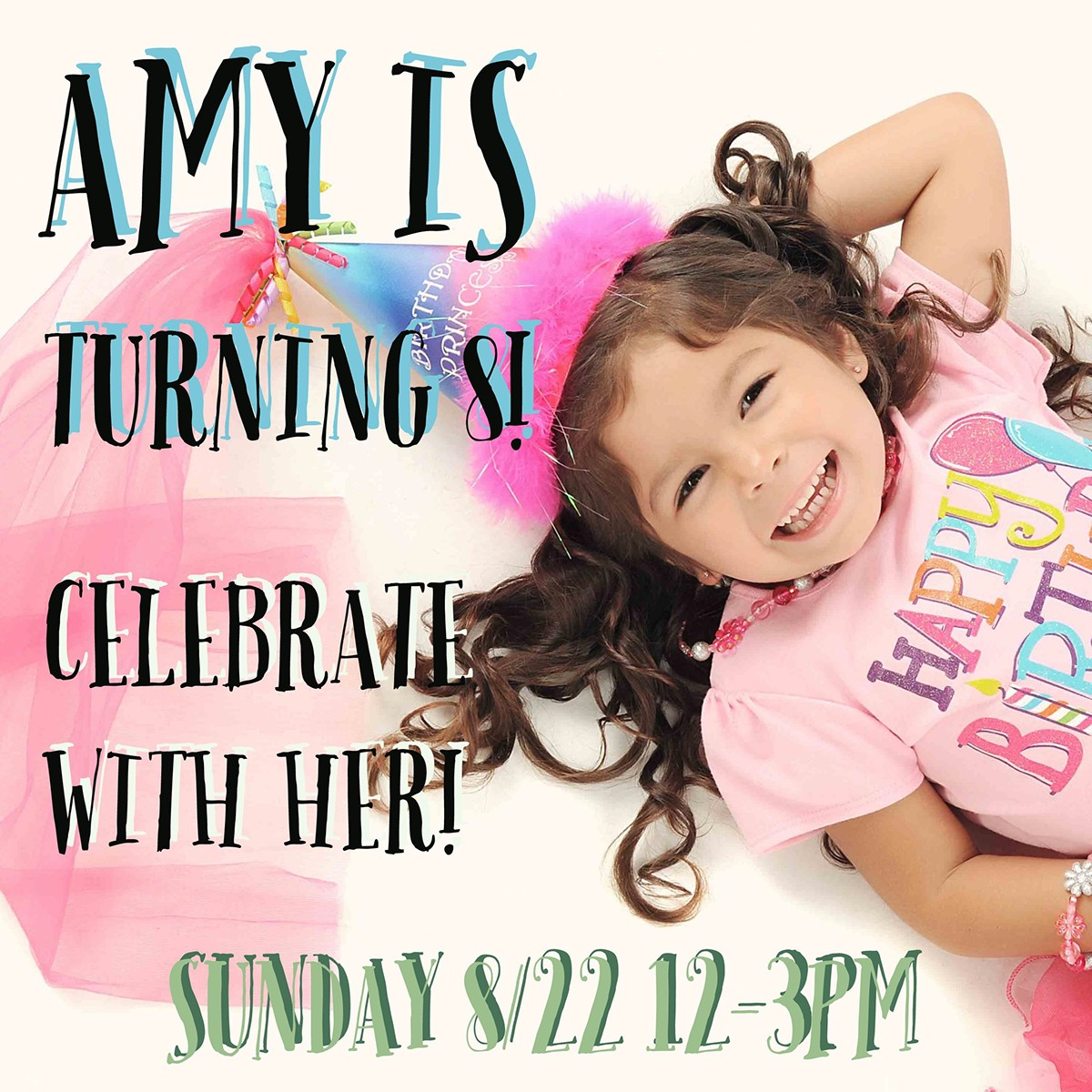 create birthday invitation card with photo free ; 8yrold-bday-invite