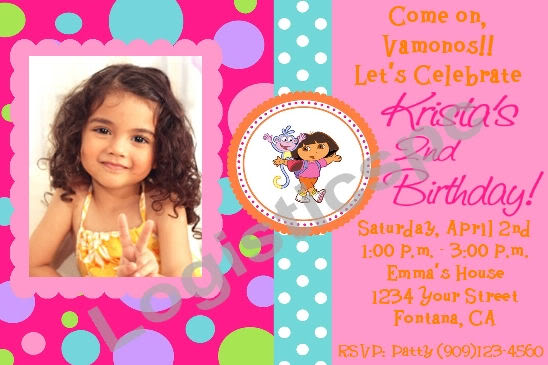 create birthday invitation card with photo free ; Customized-Birthday-Invitation-Cards-Free