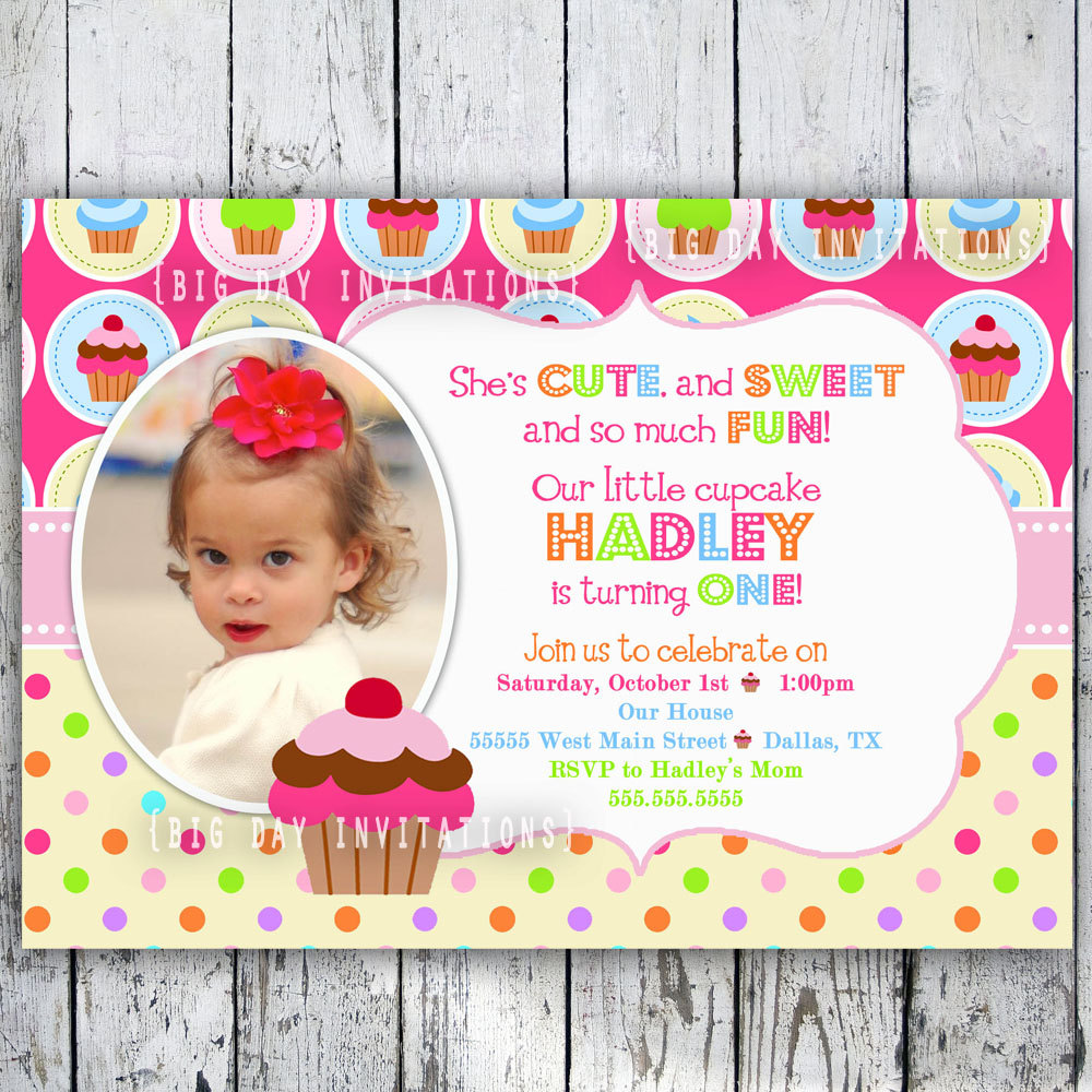 cupcake themed birthday party invitation wording ; 1st-birthday-cupcake-invitation-template_312981