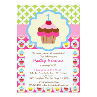 cupcake themed birthday party invitation wording ; 3c011f9c87370500fc08278576777ef9