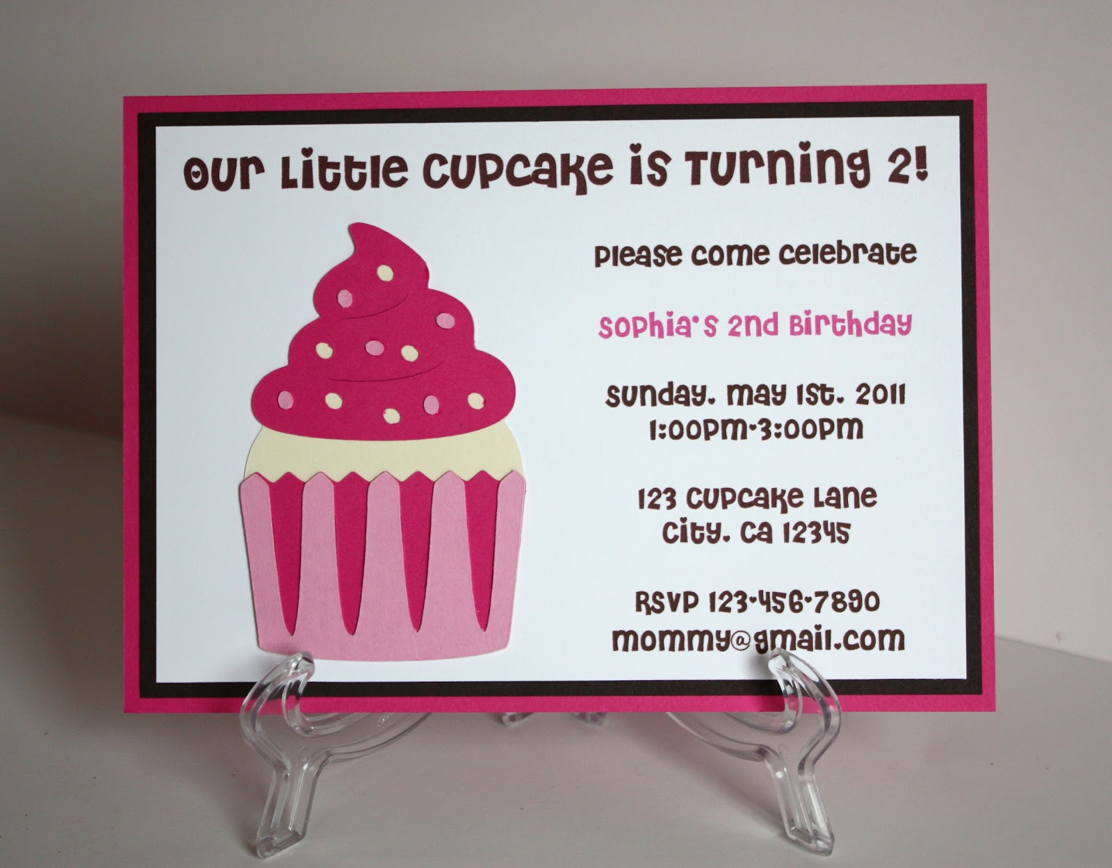 cupcake themed birthday party invitation wording ; IMG_6308+2