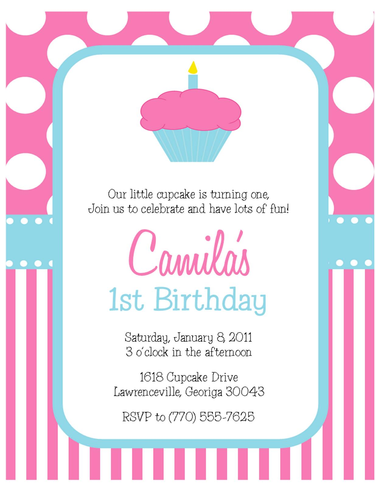 cupcake themed birthday party invitation wording ; Turning-6-Birthday-Invitation-Wording-to-get-ideas-how-to-make-your-own-birthday-Invitation-design-13