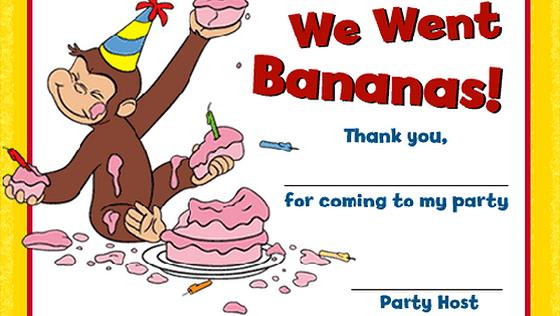 curious george photo birthday invitations free printable ; curious-george-guest-certificate