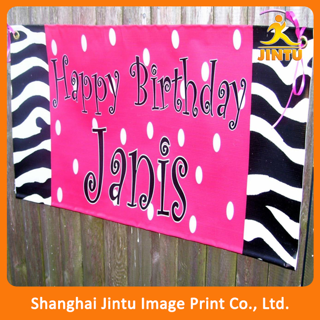 custom birthday banners with photo ; Eco-solvent-happy-birthday-banner-custom-design