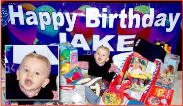 custom made birthday banners with photo ; Jakes-Birthday-Banner