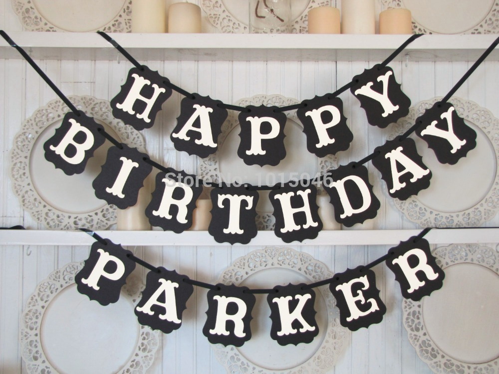 customized birthday banners with photo ; 1-X-Black-Pear-font-b-Paper-b-font-HAPPY-BIRTHDAY-font-b-Customized-b-font
