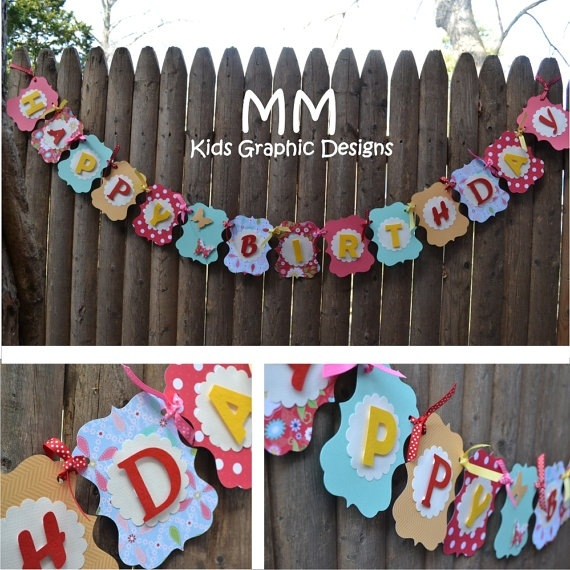 customized birthday banners with photo ; items-similar-to-custom-happy-birthday-banner-personalized-on-etsy-throughout-personalized-birthday-banner