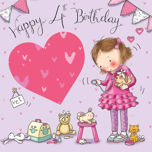 cute birthday card pictures ; age-4-cute-birthday-card-for-girls-vet-4114-p