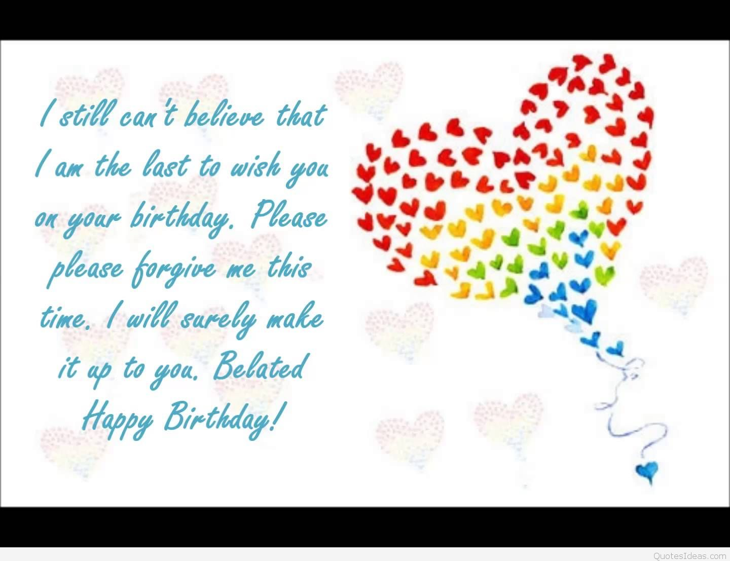cute birthday card quotes ; belated-birthday-greeting-quotes-wallpapers