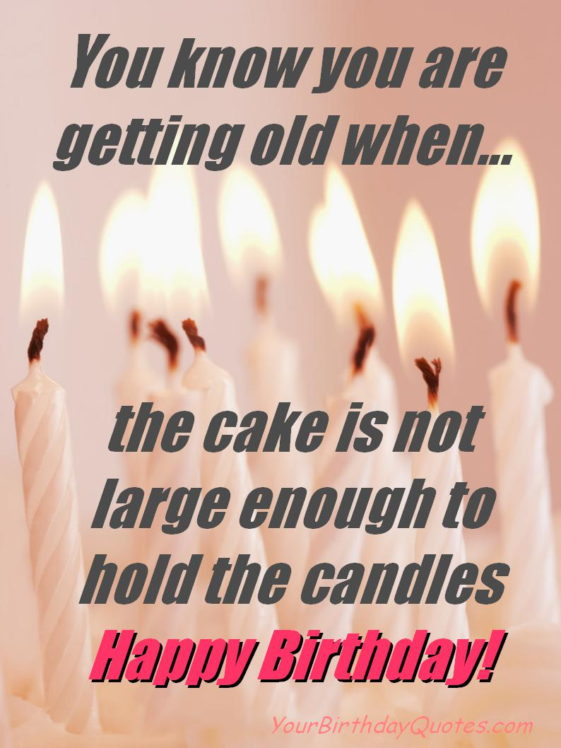 cute birthday card quotes ; birthday-wishes-funny-candles-cake