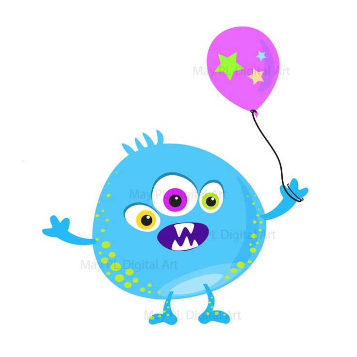 cute birthday clipart ; cute-birthday-clipart-monsters-on-cute-monsters-clip-art-and-little-monsters