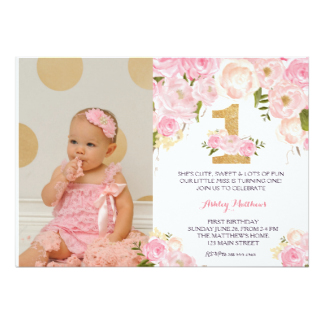 design 1st birthday invitation card ; 1st-birthday-first-beautiful-floral-invitation-card_st-birthday-invitations-with-alluring-first-birthday-invitation-card-design-hd-images-for-you