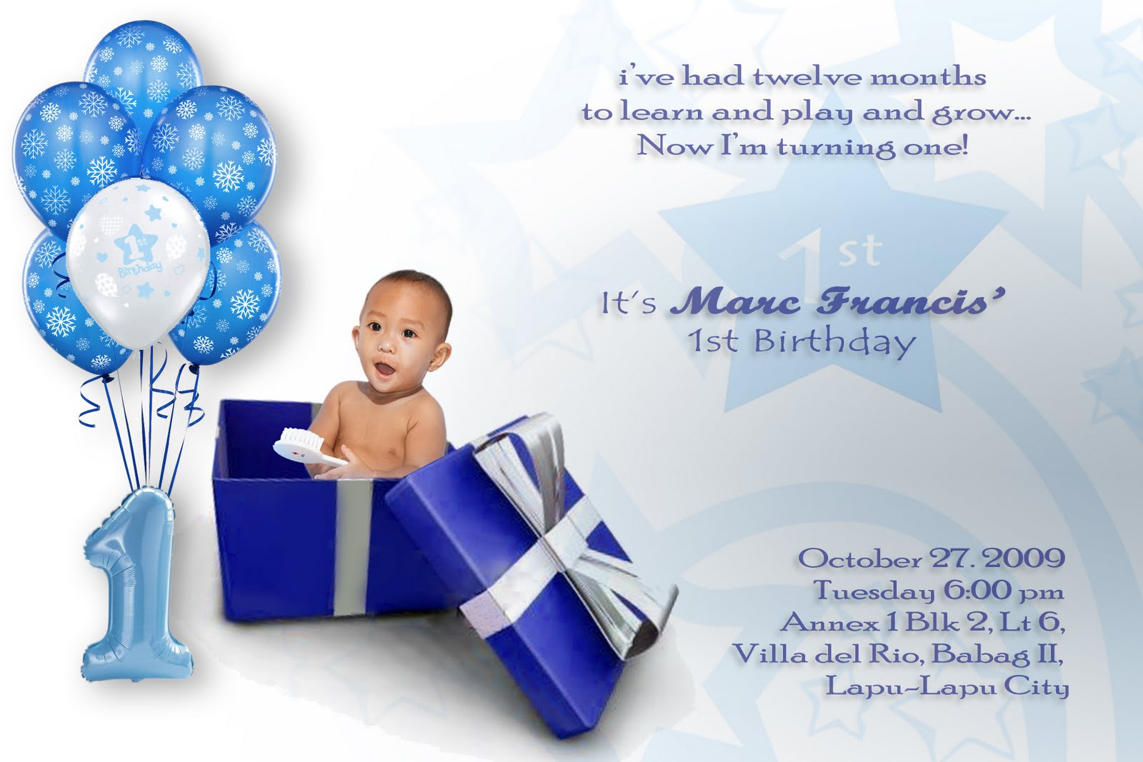 design 1st birthday invitation card ; 1st-birthday-invitation-cards-for-baby-boy-And-Get-Inspiration-to-Create-a-Nice-Invitation-1