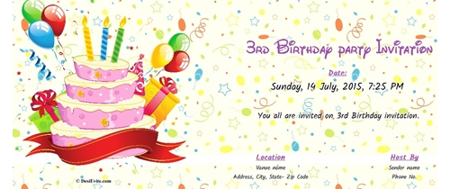 design a birthday invitation card online free ; Thumb-3rd-birthday-invitation-53