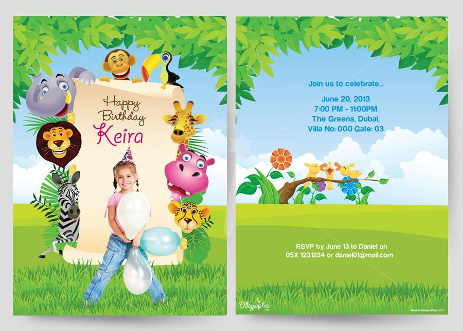 design an invitation card for your birthday party ; birthday-card-invitations-to-bring-your-dream-design-into-your-Birthday-invitation-16